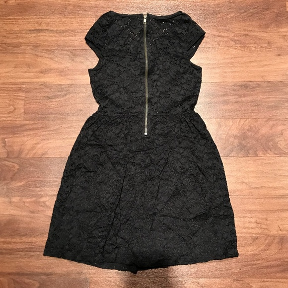Wet Seal Dresses Black Eyelet Lace Dress Poshmark